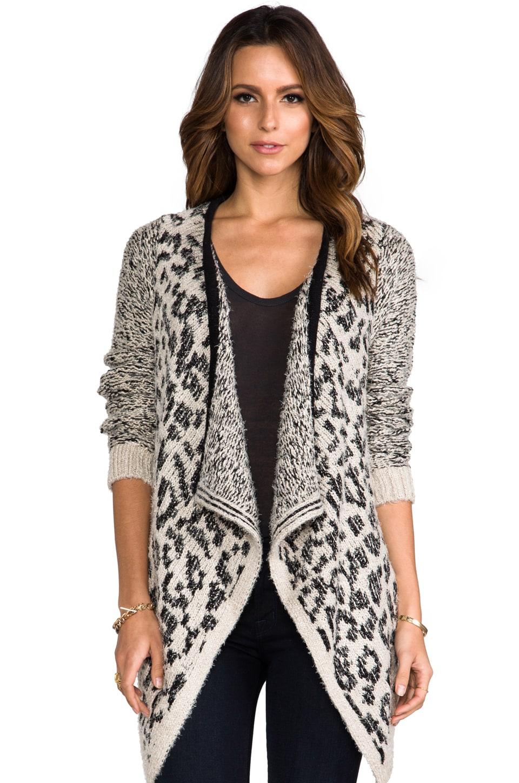 Bardot Leopard Cardigan in Leopard