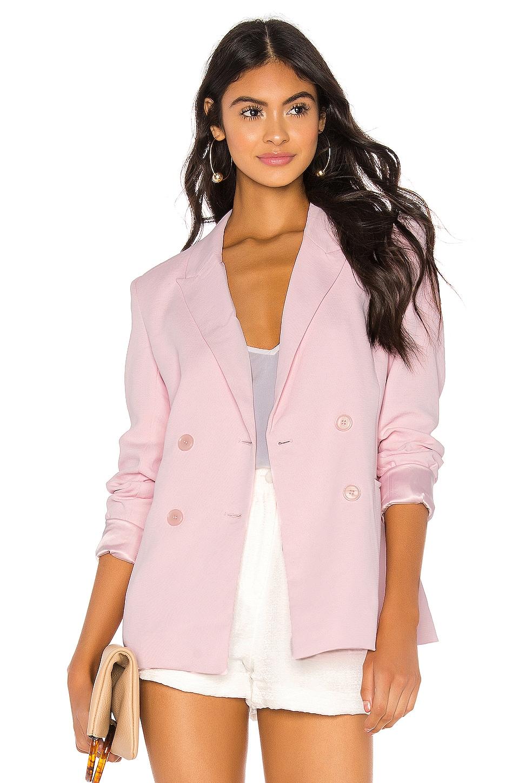 Bardot Malibu Blazer in Pastel Pink