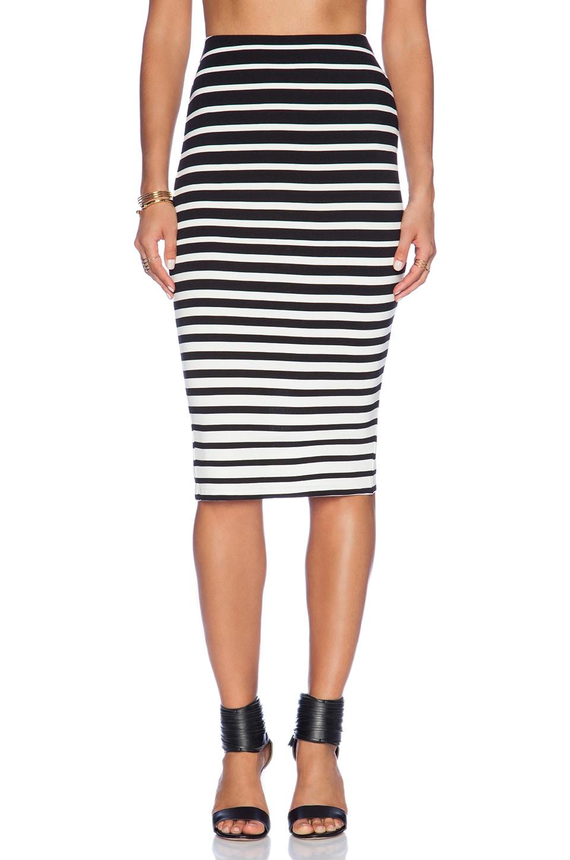 Bardot Graduated Stripe Skirt in Stripe