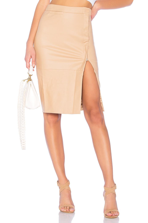 574d0a71a Leather Look Mini Skirt Bardot - raveitsafe