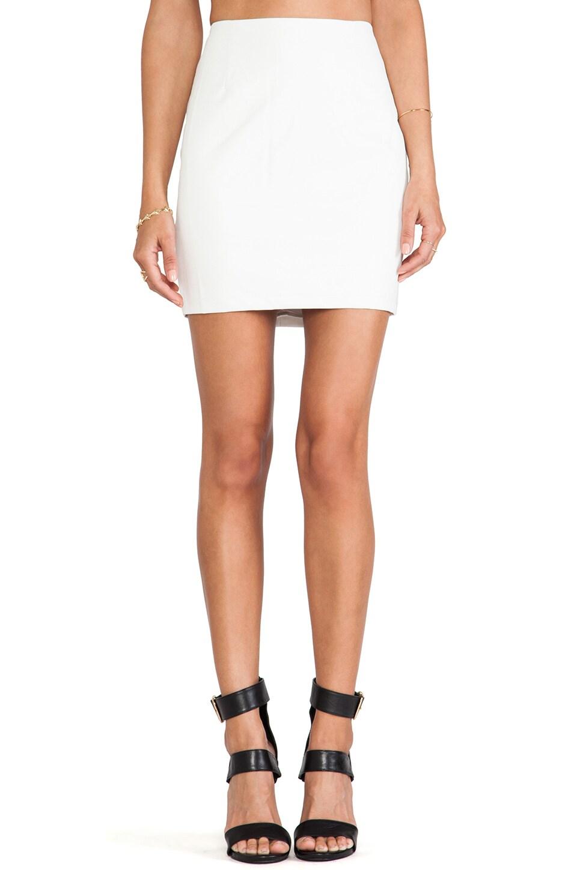 Bardot Mini Skirt in White