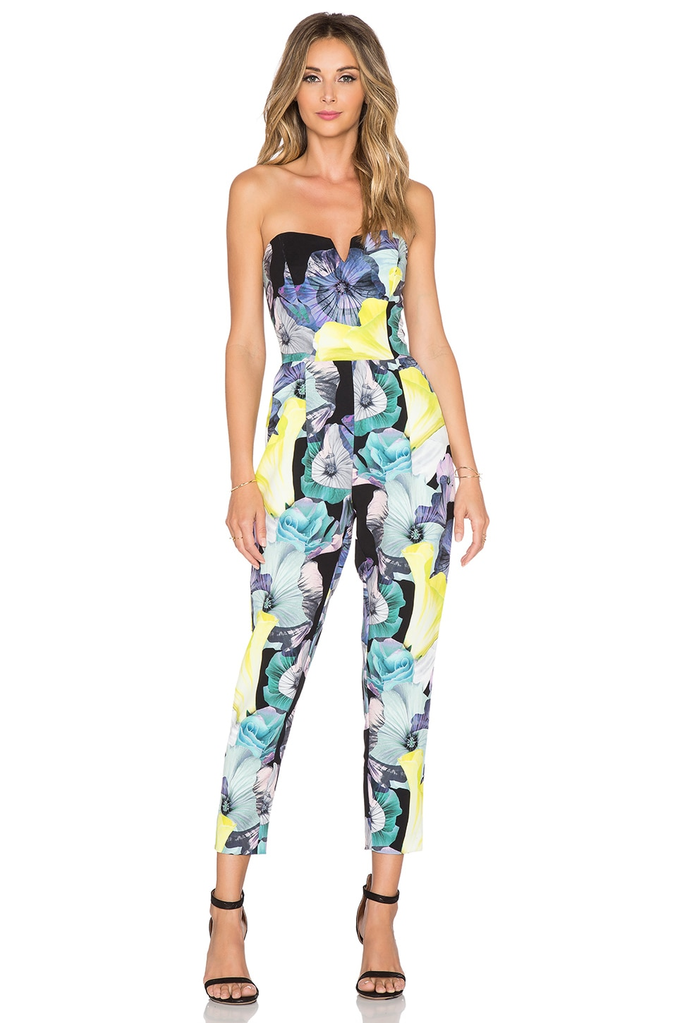 Bardot Floral Jumpsuit in Multi