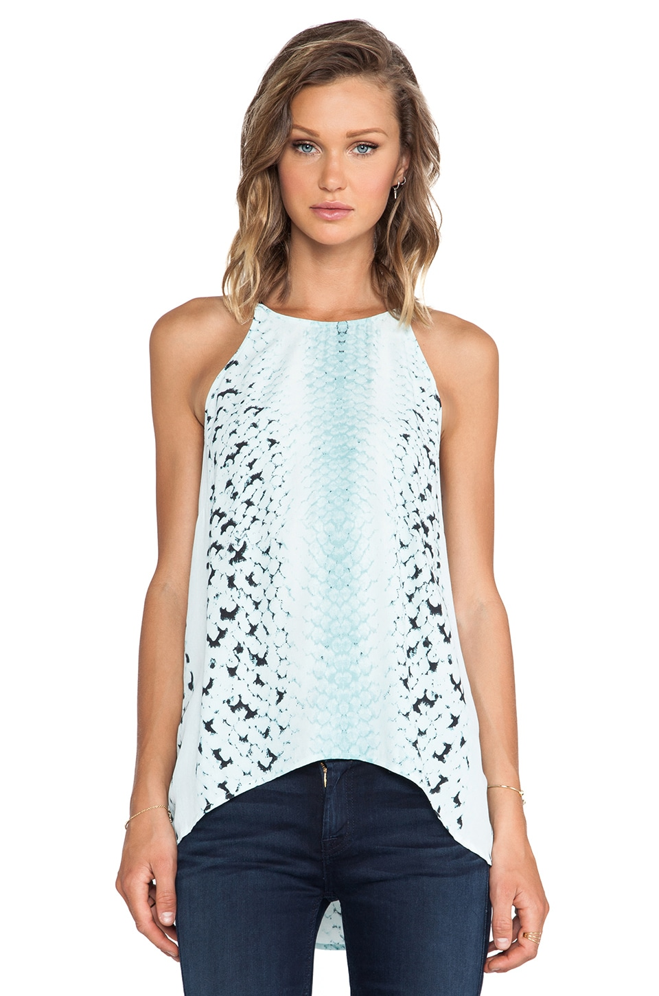 Bardot Snake Cami Top in Print