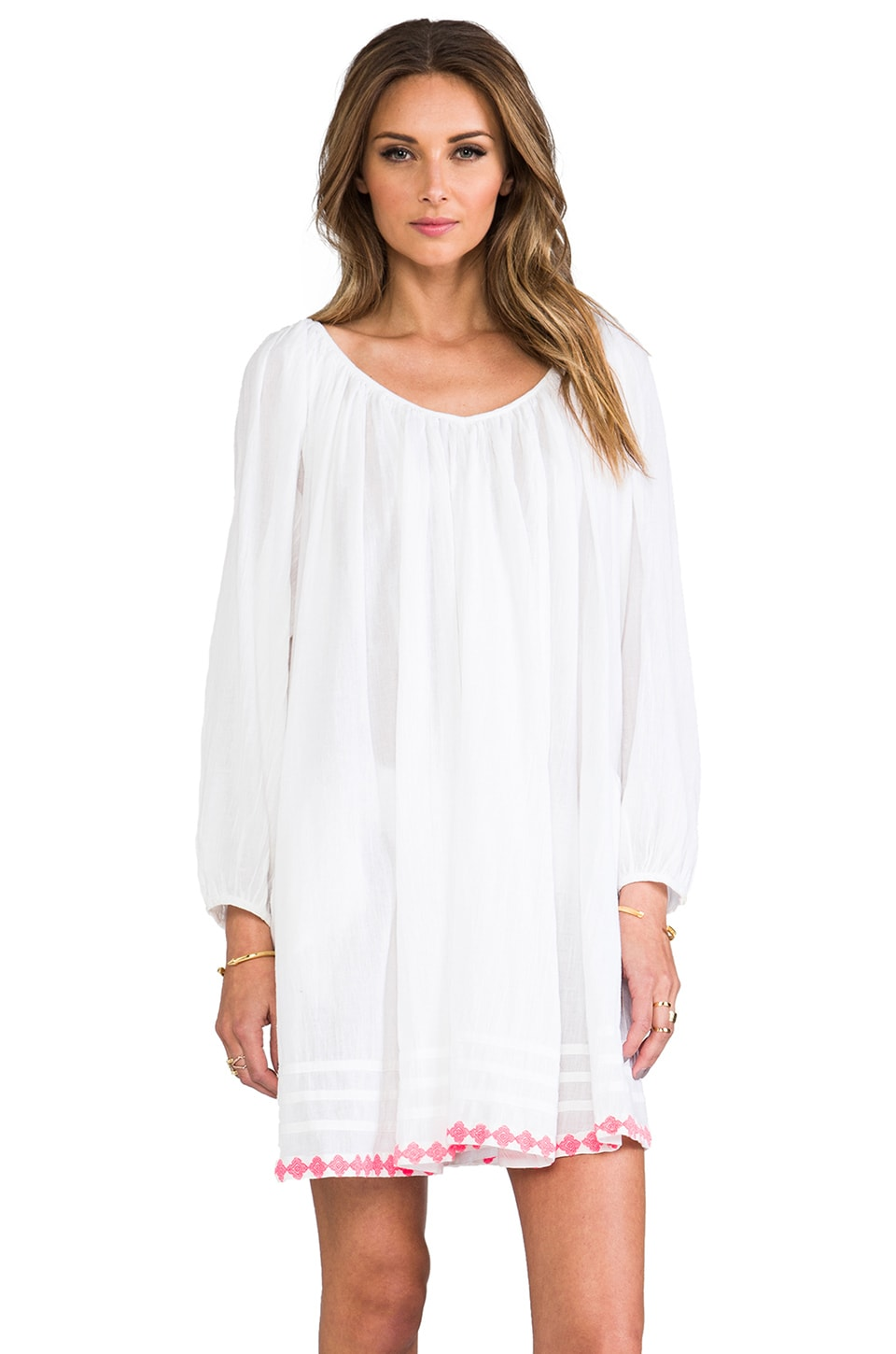Basta Surf Capri Mini Dress in White