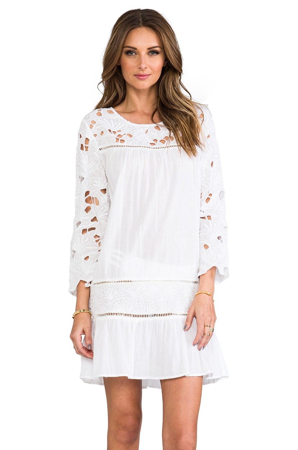 Basta Surf Martinique Dress in White