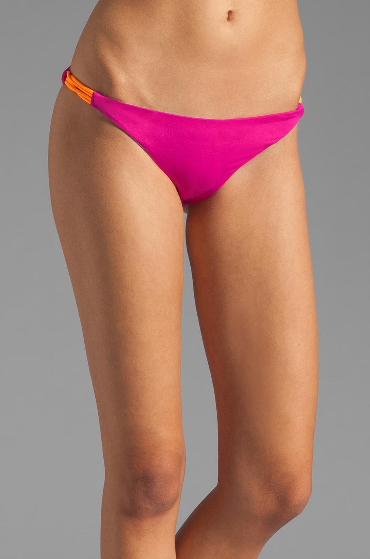 Basta Surf Zunzal Reversible Bikini Bottom in Fuchsia/Peri
