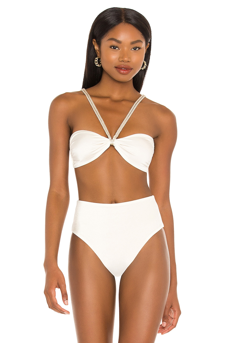 Baobab Ancla Top in Ivory