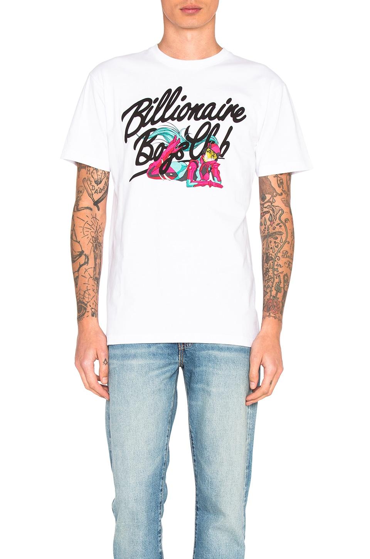 Billionaire Boys Club Epoch Tee in White