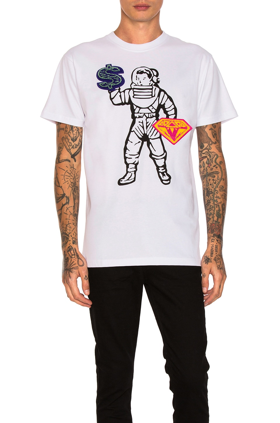 Sign Language Tee by Billionaire Boys Club