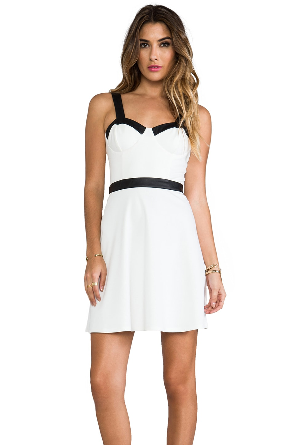 BB Dakota Keryn Tank Dress in Ivory