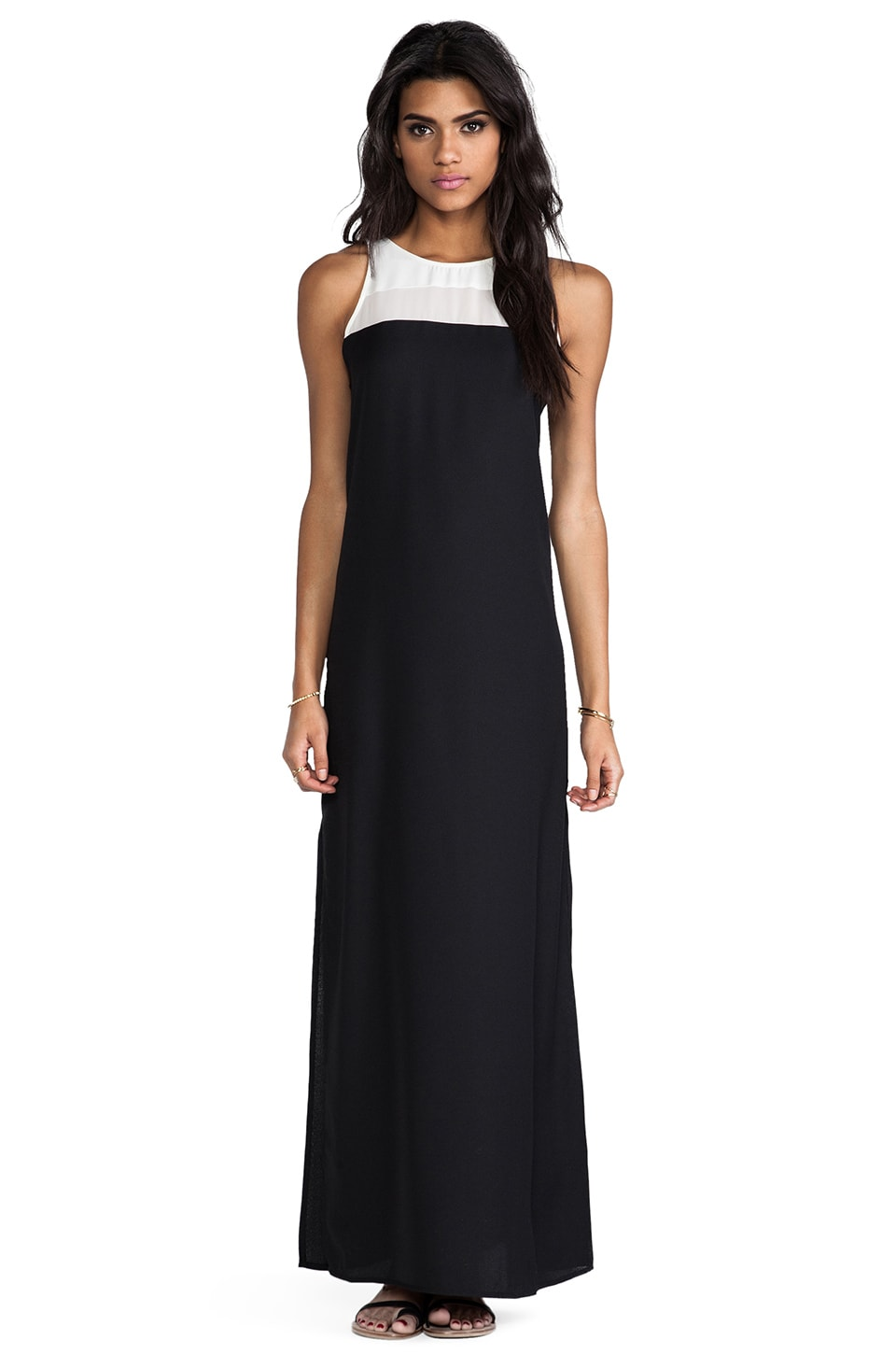 BB Dakota Sola Maxi Dress in Black
