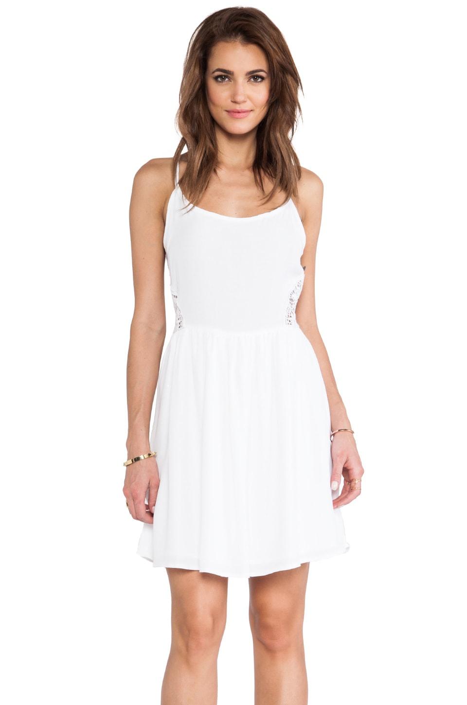 BB Dakota Reed Tank Dress in White