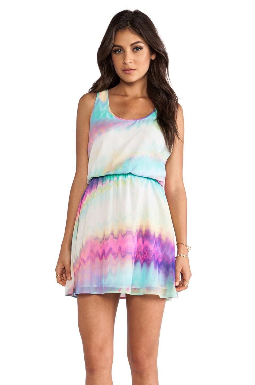 BB Dakota Joann Oil Spill Dress in Multi