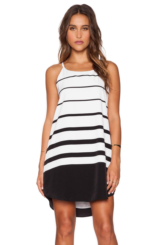 BB Dakota Amelia Varigated Stripe in Black