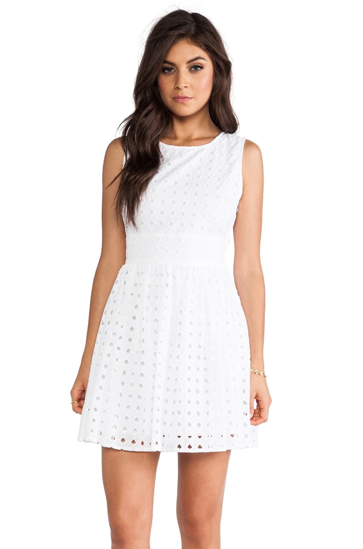 BB Dakota Macall Mini Dress in White