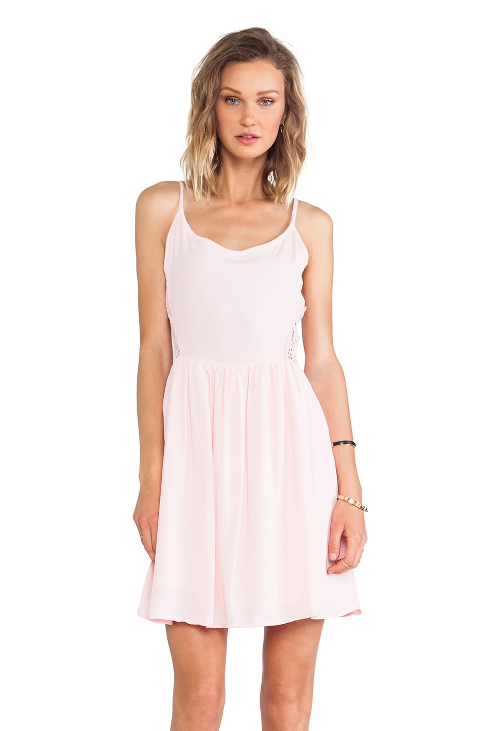 BB Dakota Reed Tank Dress in Crystal Rose