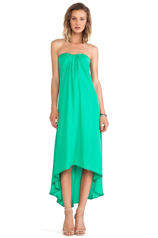 BB Dakota Savi Hi-Lo Dress in Emerald