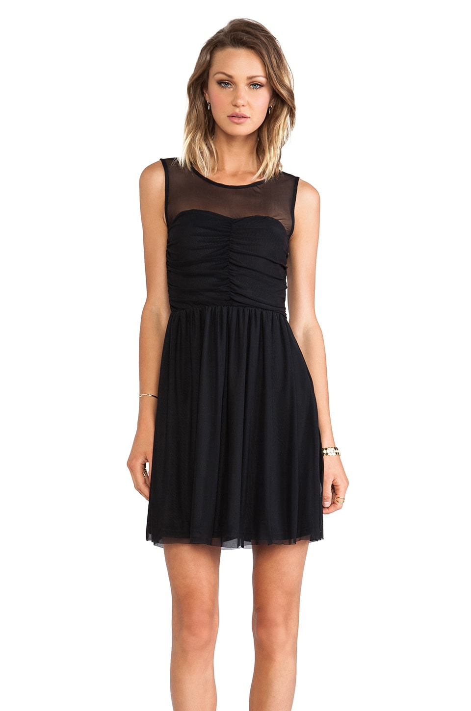 BB Dakota Marilla Tank Dress in Black