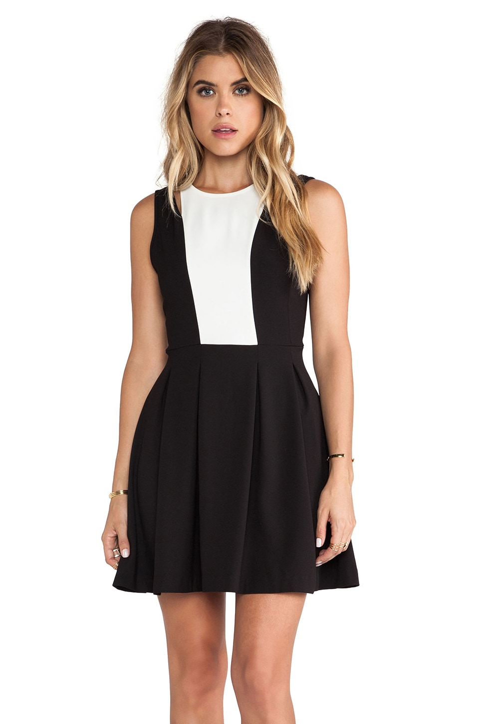 BB Dakota Barrett Dress in Black & White