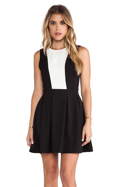 BB Dakota Barrett Dress in Black & White