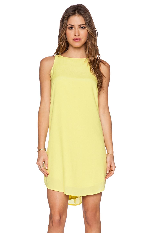 BB Dakota Colleen Dress in Citron