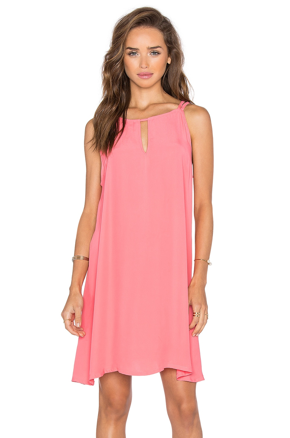 BB Dakota Rachel Dress in Coral
