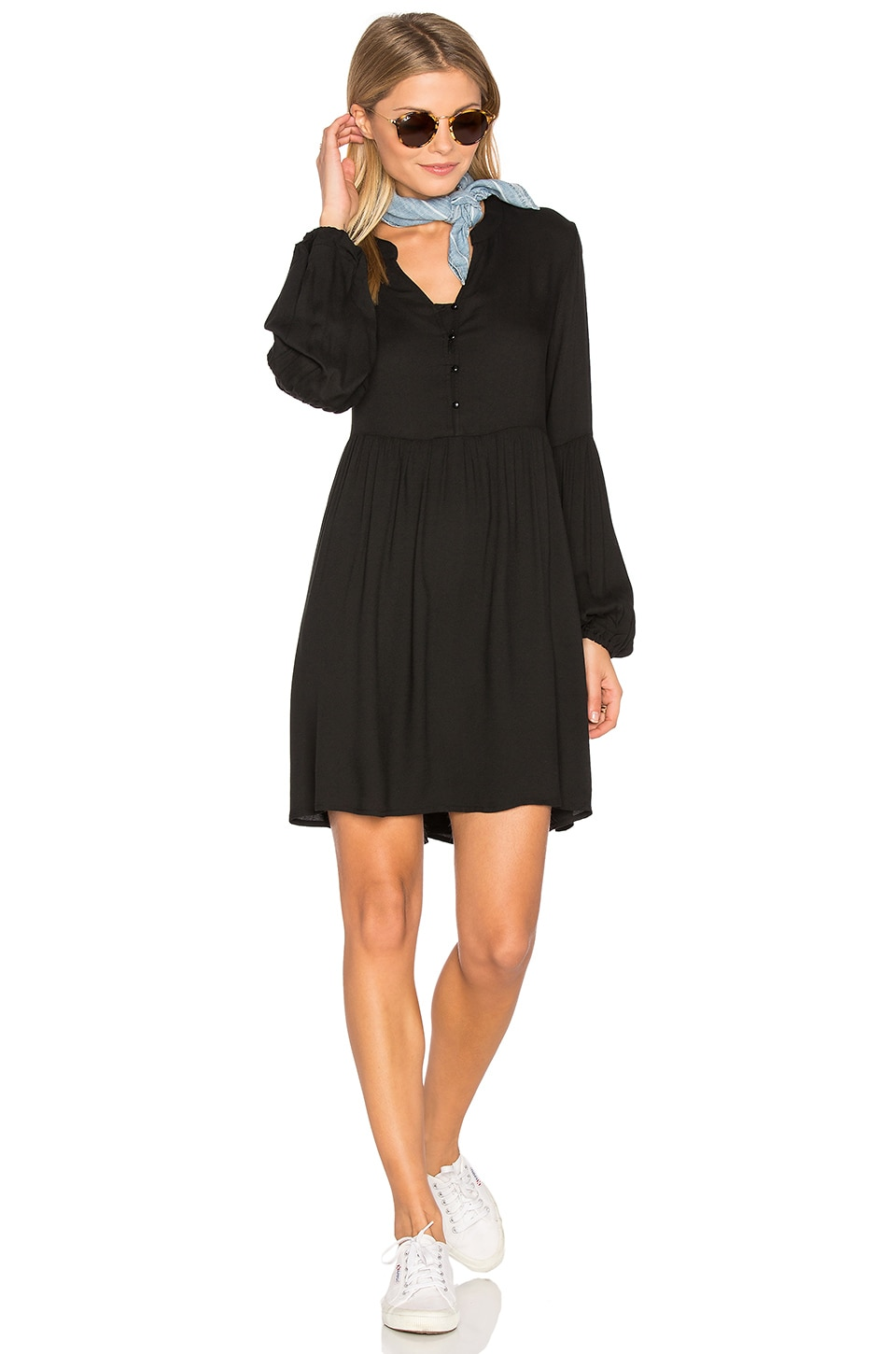 BB Dakota Jack By BB Dakota Jerrilyn Mini Dress in Black