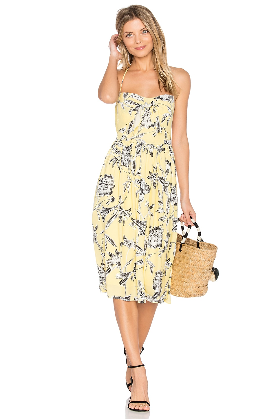 BB Dakota Joss Dress in Yellow