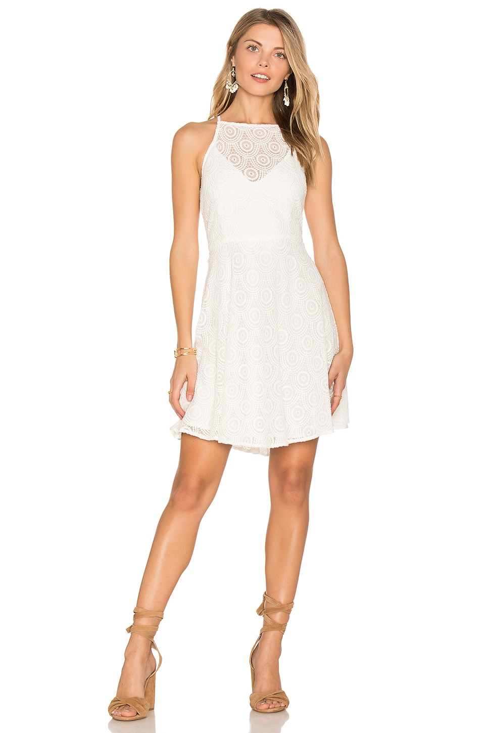 BB Dakota RSVP by BB Dakota Alena Dress in Cream