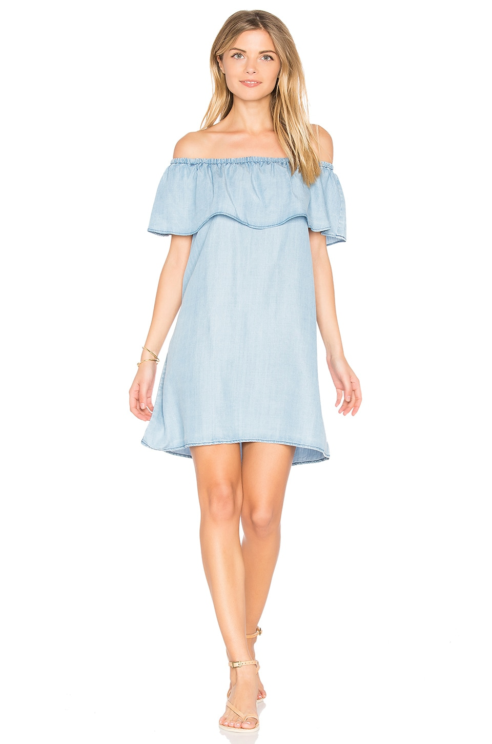 BB Dakota Maci Dress in Light Blue