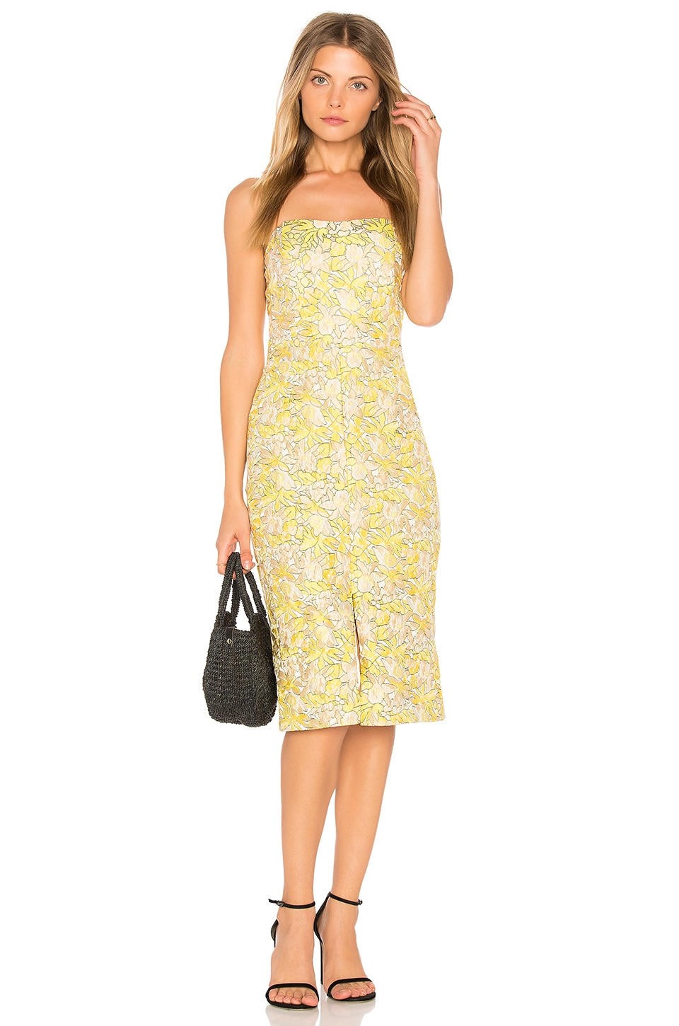 BB Dakota RSVP by BB Dakota Gretta Dress in Limoncello