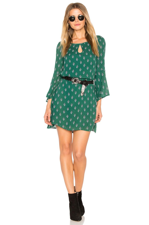 BB Dakota Jack by BB Dakota Kurle Dress in Forest Green