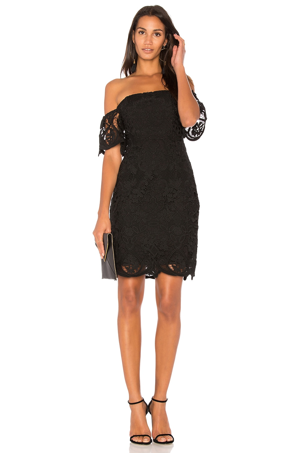 BB Dakota RSVP by BB Dakota Nathalie Dress in Black