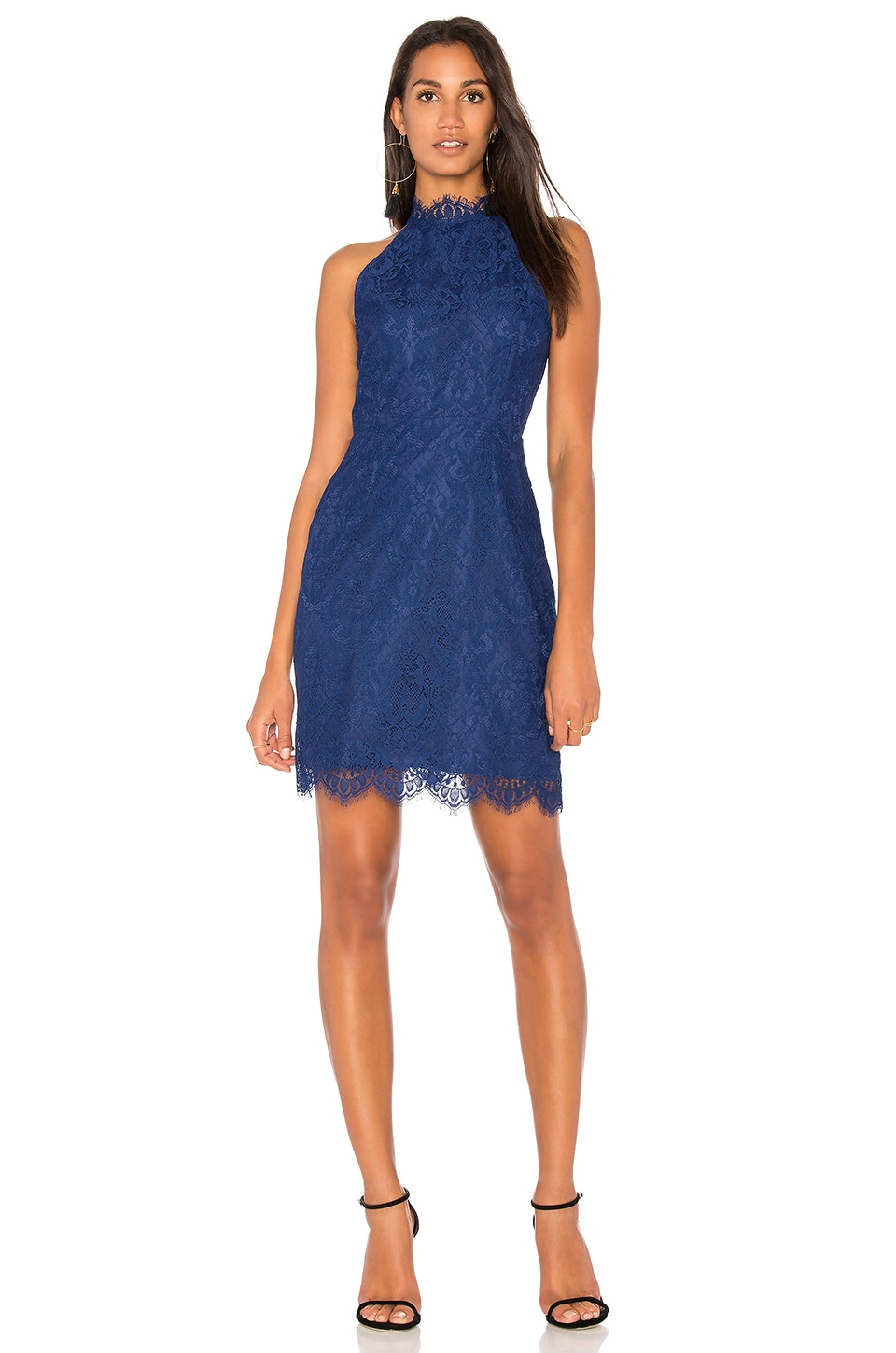 BB Dakota Cherie Dress in Deep Blue