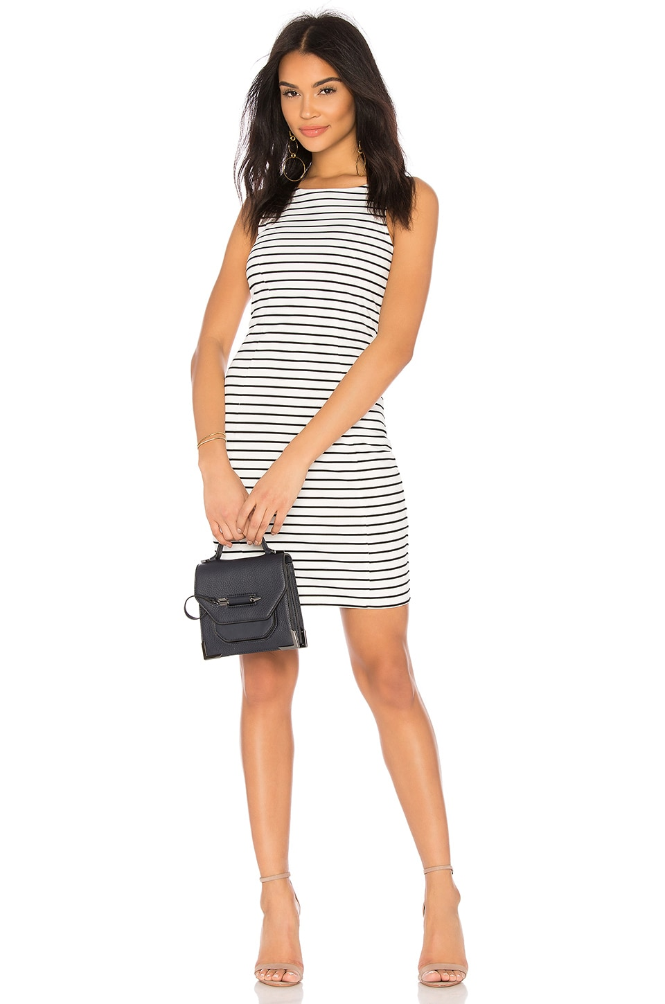 BB Dakota JACK by BB Dakota Karen Dress in Bright White