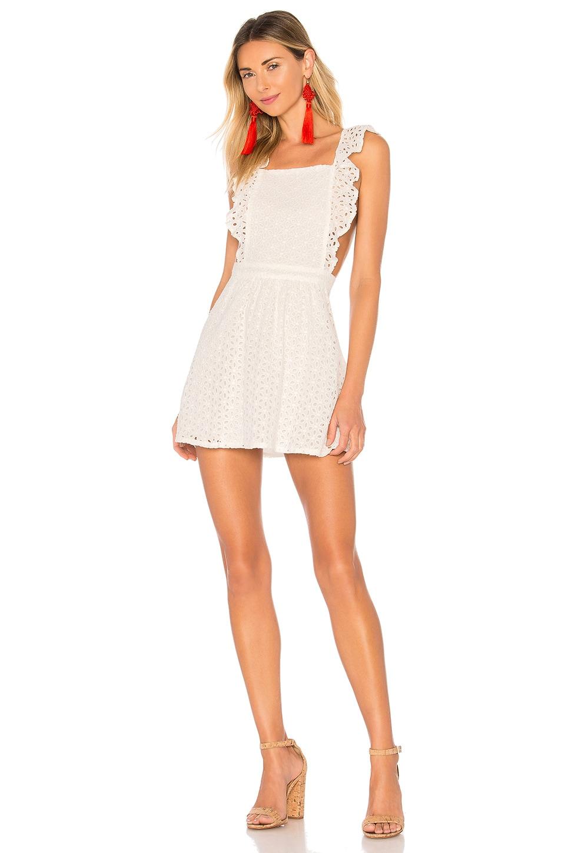 BB Dakota x REVOLVE Run Free Dress in Off White
