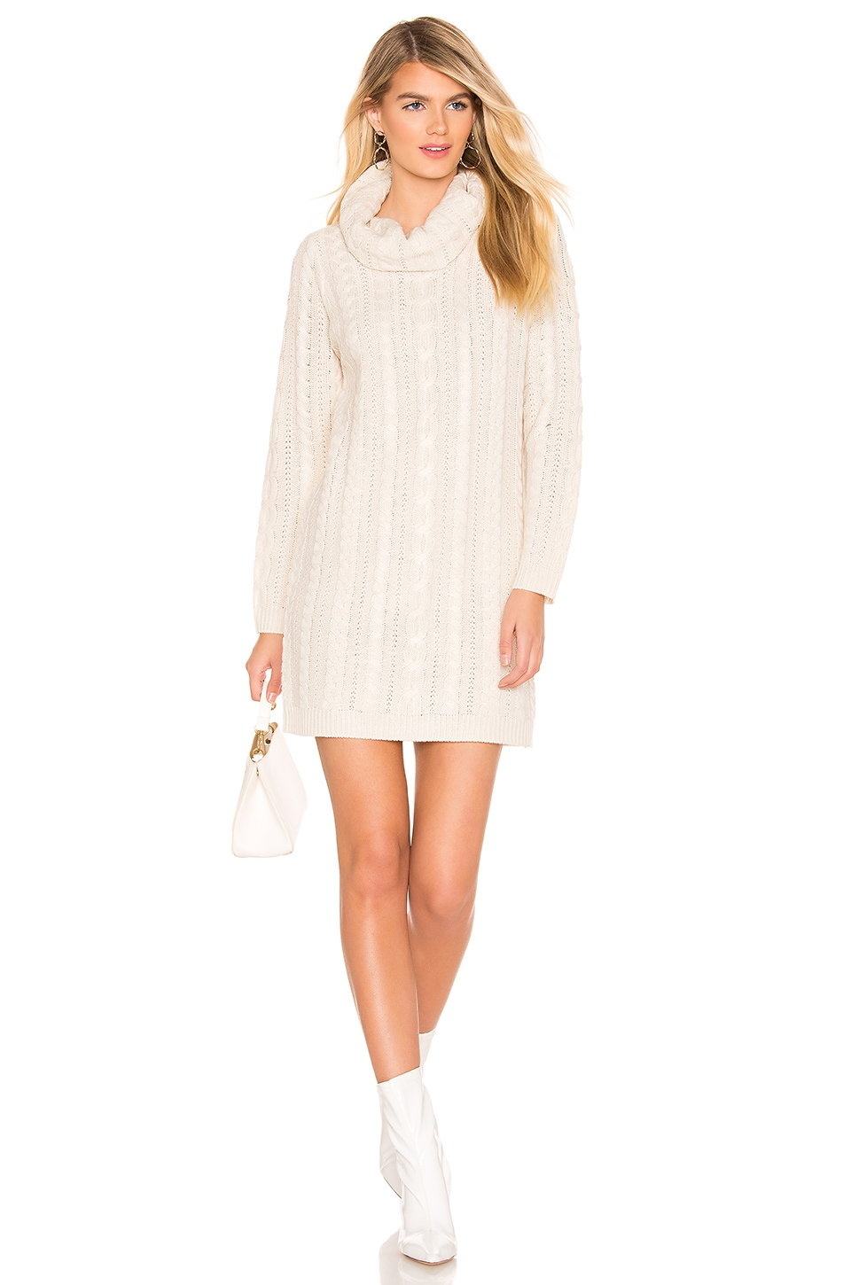 BB Dakota Alaska Sweater Dress in Oatmeal