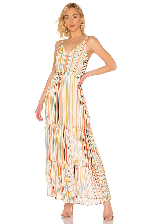 Bb Dakota Dresses BB DAKOTA JACK BY BB DAKOTA MAXIMUM IMPACT DRESS IN PINK.