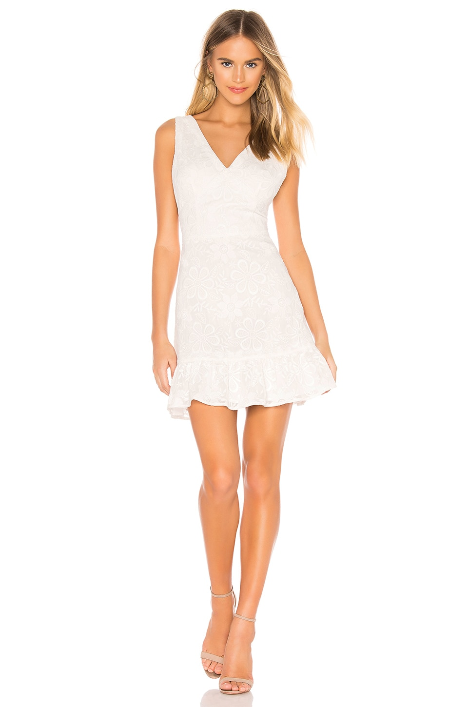 BB Dakota RSVP by BB Dakota Flower Power Dress in Ivory