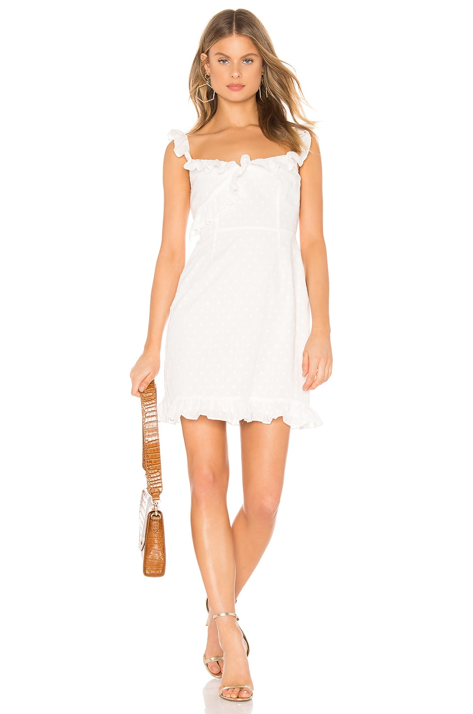 BB Dakota RSVP by BB Dakota Say No More Dress in Ivory