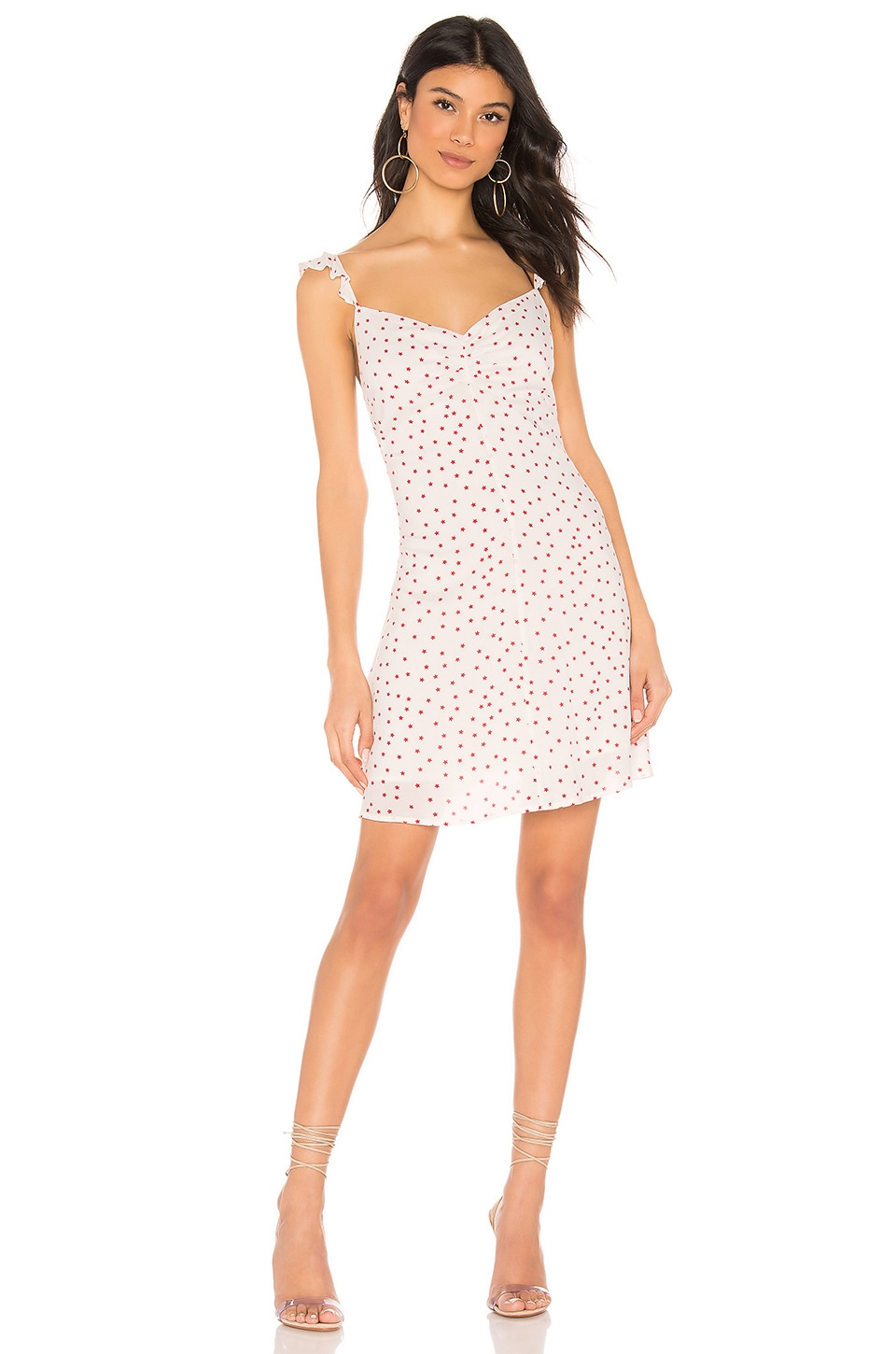 BB Dakota Stars Align Dress in Ivory