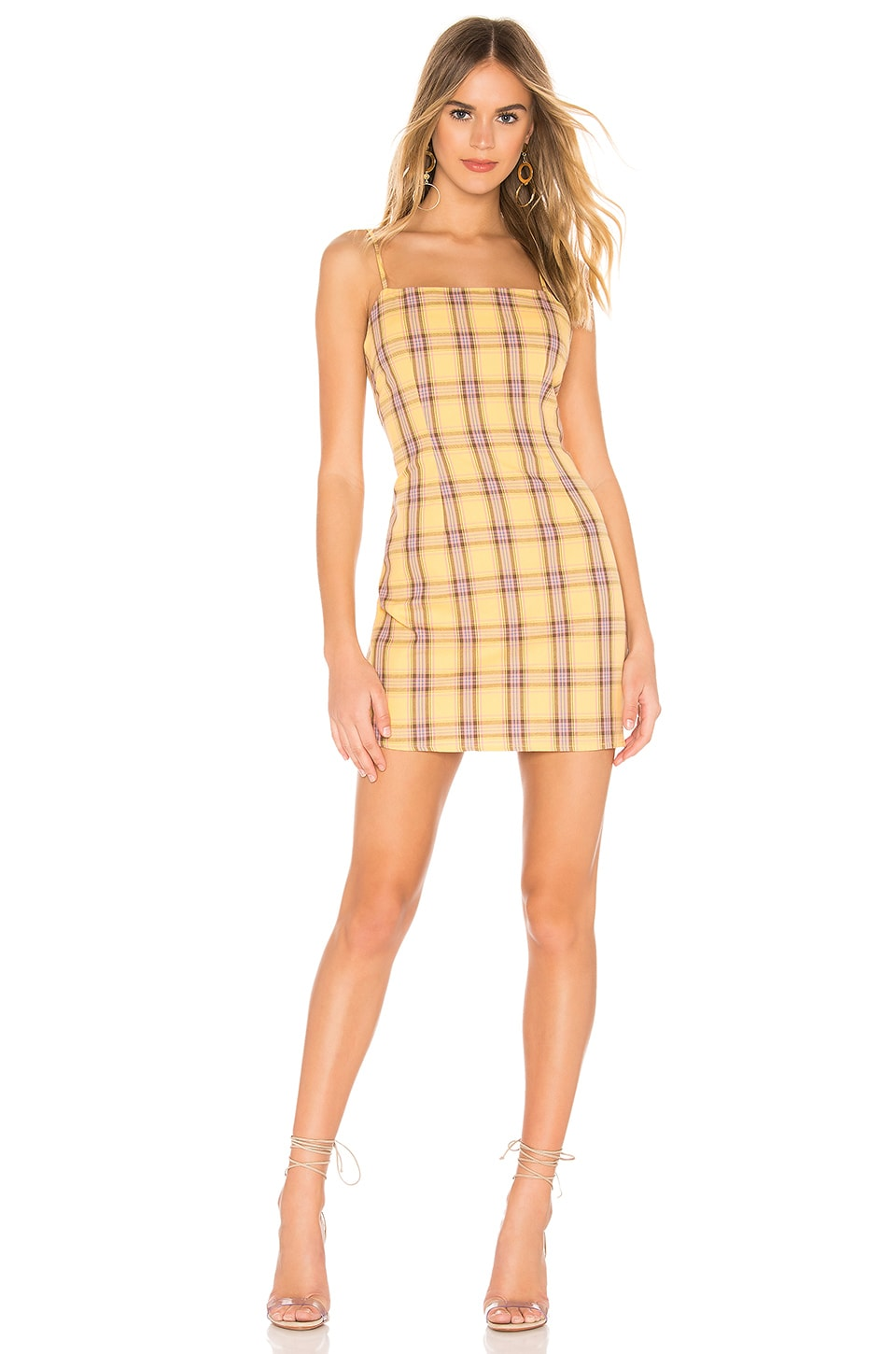 BB Dakota Total Betty Dress in Lemon Drop