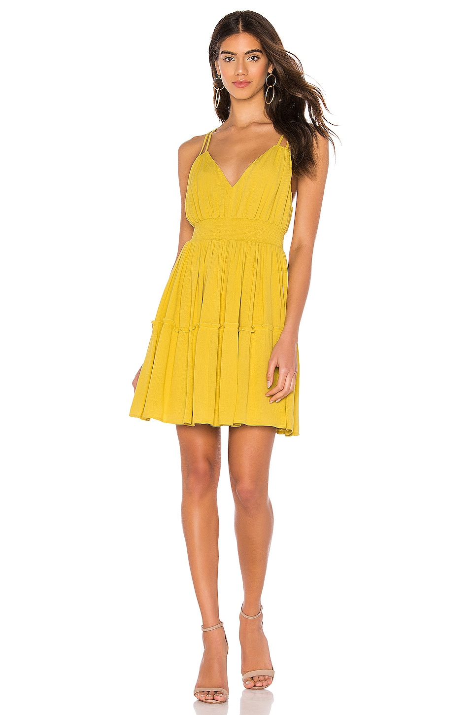 BB Dakota JACK by BB Dakota Steal My Sunshine Dress in Tuscan Gold