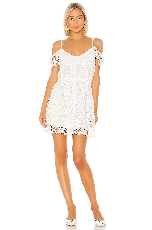 BB Dakota Jack by BB Dakota Take Me Downtown Dress in Off White