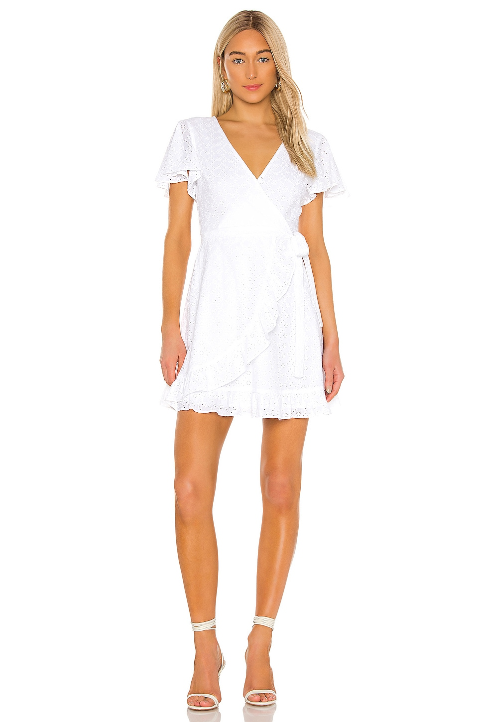 JACK by BB Dakota Easy On The Eyelet Wrap Dress             BB Dakota                                                                                                       CA$ 122.67 17