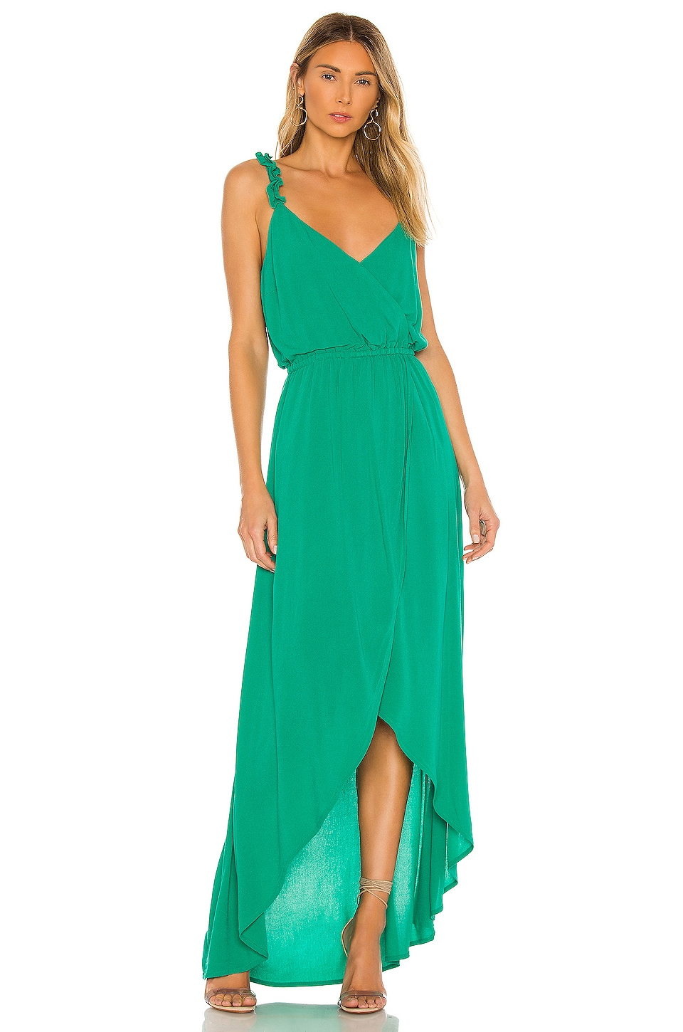 JACK by BB Dakota Ruffle & Cut Midi Dress             BB Dakota                                                                                                       CA$ 122.67 7