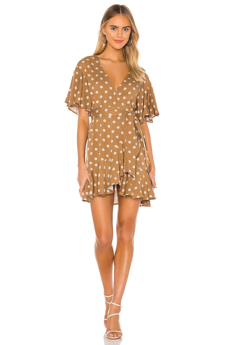 BB Dakota Butterscotch Bae Dress in Butterscotch