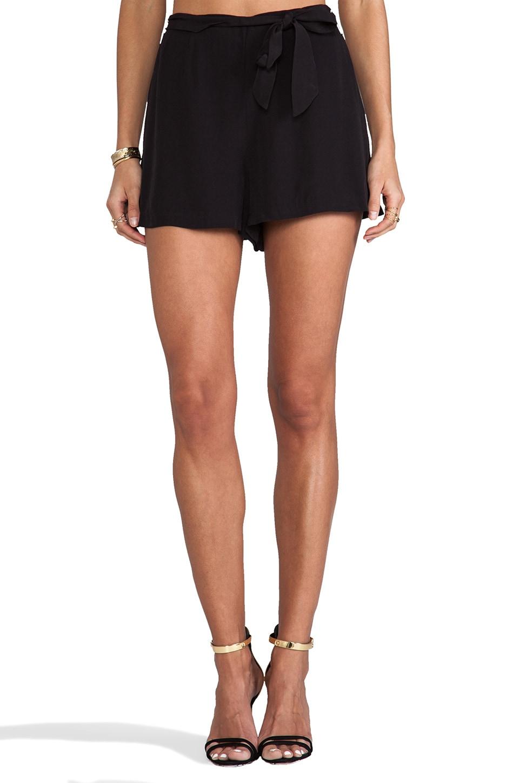 BB Dakota Nayan High Waisted Shorts in Black | REVOLVE