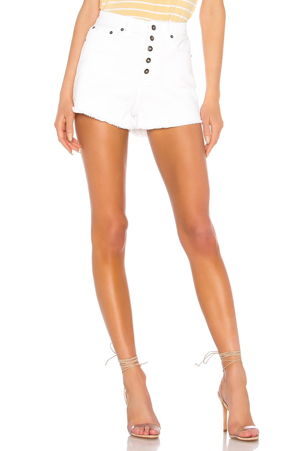 BB Dakota JACK by BB Dakota Down To Business Short in Bright White