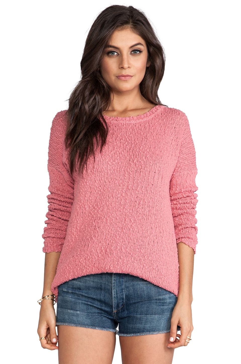 BB Dakota Auburn Oversized Sweater in Cheeky
